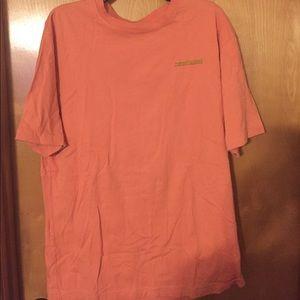 Tommy Bahama shirt-peach color
